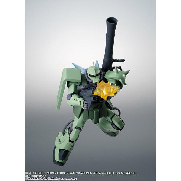 ROBOT魂 (SIDE MS) MS-06F-2 ザクIIF2型 ver. A.N.I.M.E.(機動戦士ガンダム0083 STARDUST MEMORY)_5