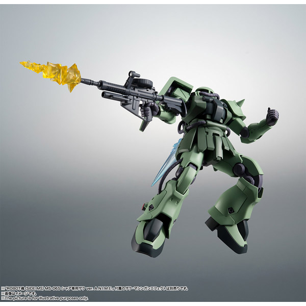 ROBOT魂 (SIDE MS) MS-06F-2 ザクIIF2型 ver. A.N.I.M.E.(機動戦士ガンダム0083 STARDUST MEMORY)_9