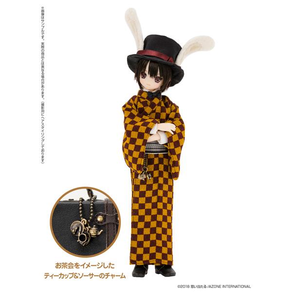 えっくす☆きゅーと ふぁみりー Alice'sTeaParty 帽子屋〜大正浪漫〜/あおと 1/6 ドール_2