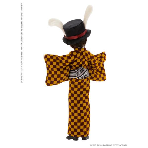 えっくす☆きゅーと ふぁみりー Alice'sTeaParty 帽子屋〜大正浪漫〜/あおと 1/6 ドール_6