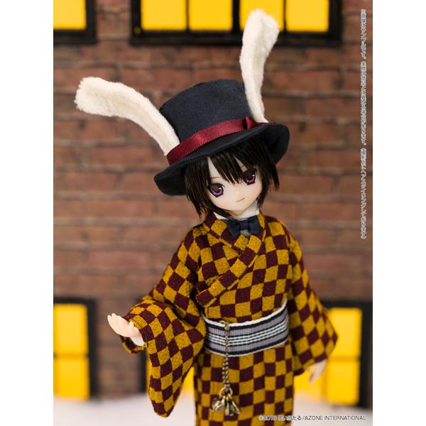 えっくす☆きゅーと ふぁみりー Alice'sTeaParty 帽子屋〜大正浪漫〜/あおと 1/6 ドール_7