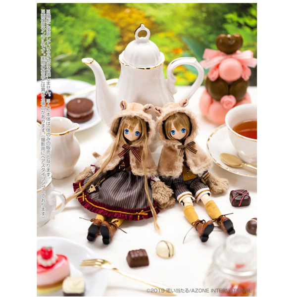 えっくす☆きゅーとふぁみりー Alice's TeaParty〜お菓子なお茶会〜眠りねずみさん/つきは 1/6 ドール_5