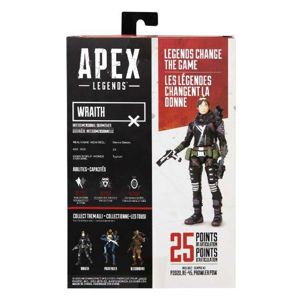 Apex Legends 6インチフィギュア Wraith   407064-12_2
