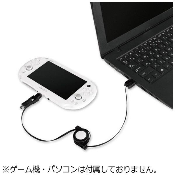 【在庫限り】 new3DS/PSV/スマホ用 3WAY充電USBケーブル ブラック 【New3DS/PSV(PCH-2000)】 [BKS-3WRUK] 【ビックカメラグループオリジナル】_2