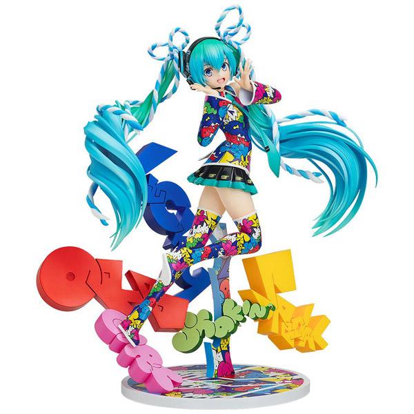 キャラクター・ボーカル・シリーズ01 初音ミク MIKU EXPO 5th Anniv. / Lucky☆Orb:UTA X KASOKU Ver. 1/8 塗装済み完成品