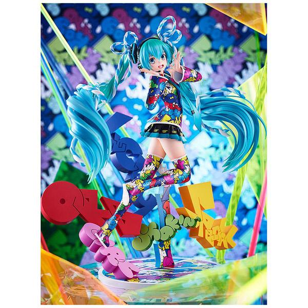 キャラクター・ボーカル・シリーズ01 初音ミク MIKU EXPO 5th Anniv. / Lucky☆Orb:UTA X KASOKU Ver. 1/8 塗装済み完成品_1