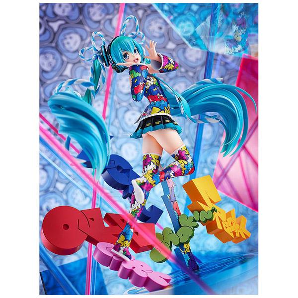 キャラクター・ボーカル・シリーズ01 初音ミク MIKU EXPO 5th Anniv. / Lucky☆Orb:UTA X KASOKU Ver. 1/8 塗装済み完成品_2