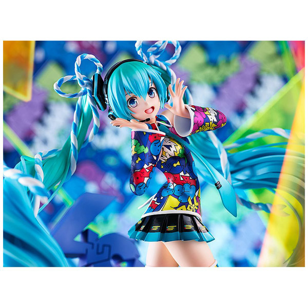 キャラクター・ボーカル・シリーズ01 初音ミク MIKU EXPO 5th Anniv. / Lucky☆Orb:UTA X KASOKU Ver. 1/8 塗装済み完成品_3