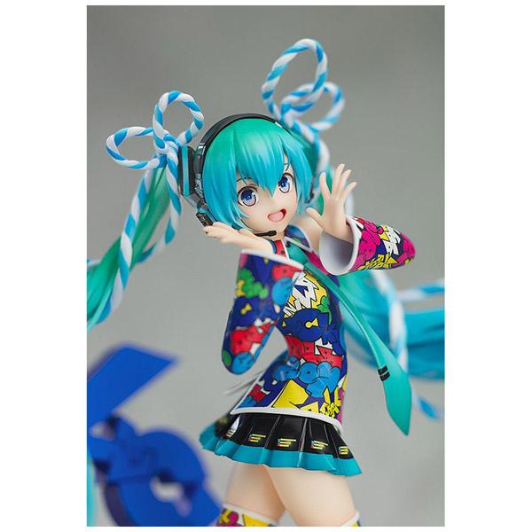 キャラクター・ボーカル・シリーズ01 初音ミク MIKU EXPO 5th Anniv. / Lucky☆Orb:UTA X KASOKU Ver. 1/8 塗装済み完成品_9