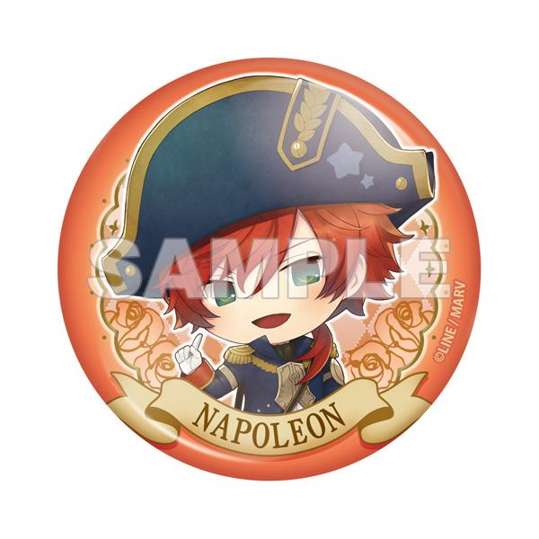 【ソフマップ限定】 千銃士 トレーディング缶バッジ vol.1 (1個)_7