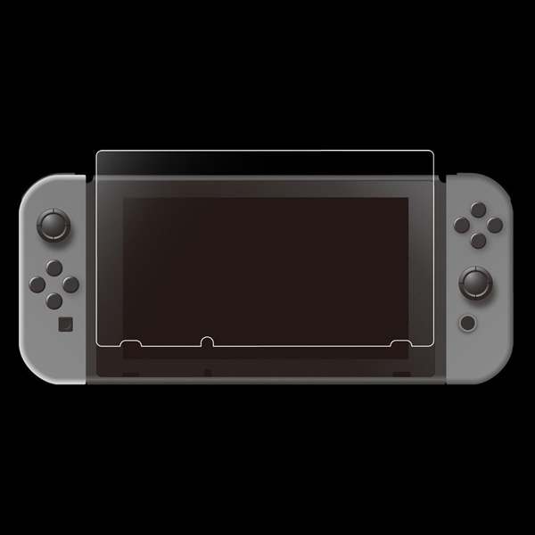 Switch用 ブルーライト低減ガラスフィルム [CC-NSBGF-CL]_1