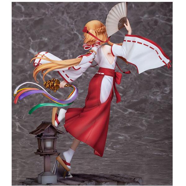 ソードアート・オンライン アリシゼーション War of Underworld アスナ 巫女ver. 1/7 塗装済み完成品フィギュア_3