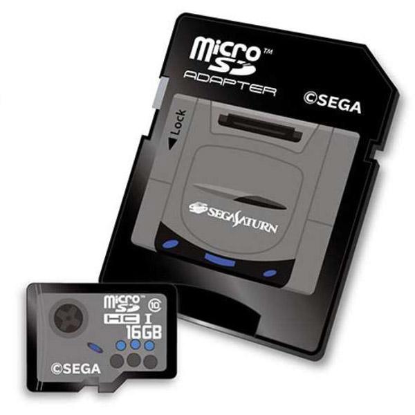 【在庫限り】 セガサターンmicroSDHCカード(16GB)+SDアダプターセット [STFW103-SA]_1