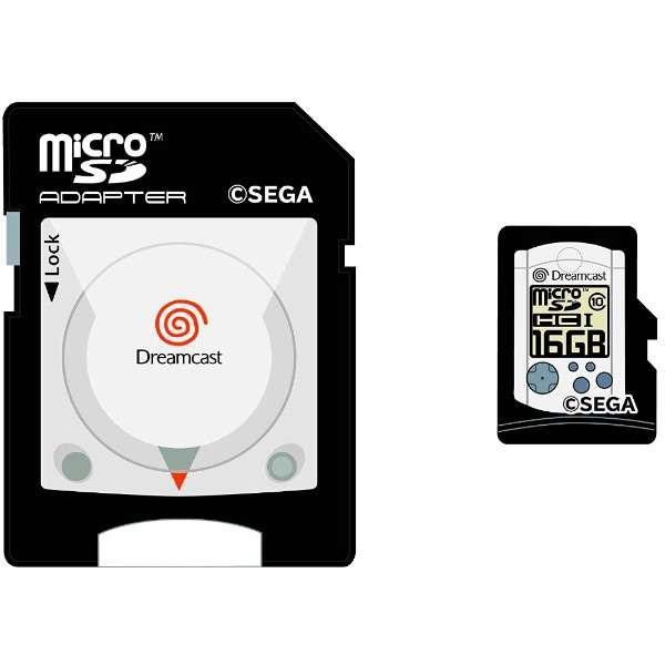 【在庫限り】 ドリームキャスト microSDHCカード(16GB)+SDアダプターセット [STFW102-DC]_2