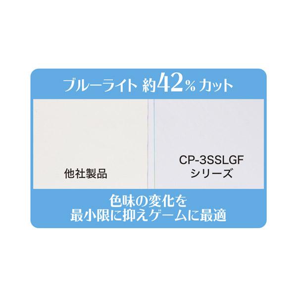 30日間交換保証付き ブルーライトカット0.2mm厚極薄スタンダードガラスフィルム CP-3SSLGF/ST 【Switch Lite】_2