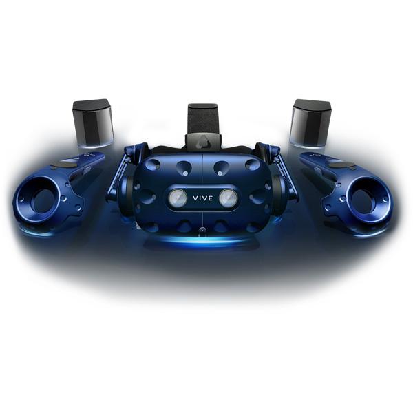 【在庫限り】 HTC VIVE Pro 99HANW009-00[2,880×1,600/VRシステム] セットモデル