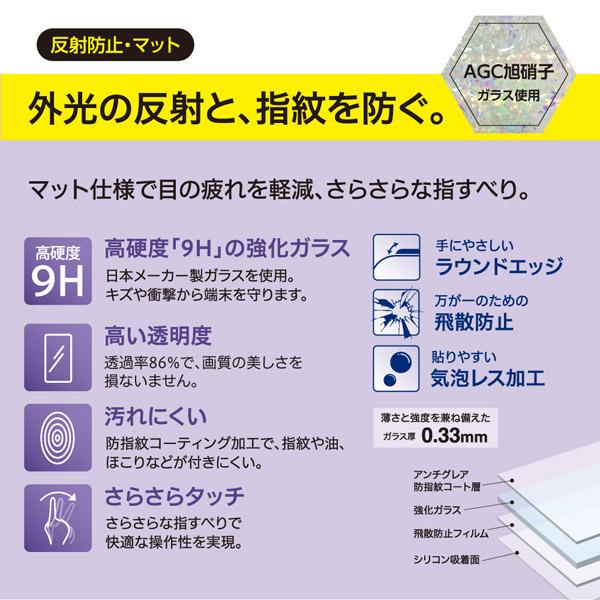 Nintendo Switch Lite用ガラスフィルム 反射防止 [GAFSWLGFLG] 【Switch Lite】_1
