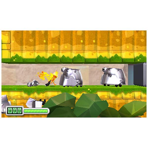 【在庫限り】 なげなわアクション! ぐるぐる! ちびロボ! 【3DSゲームソフト】_1