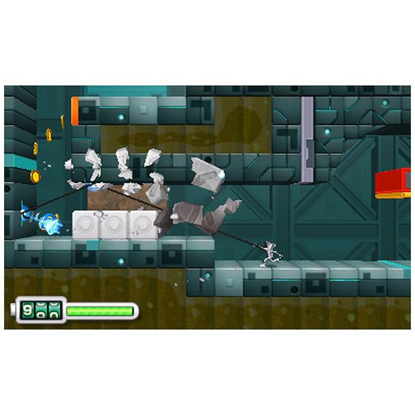 【在庫限り】 なげなわアクション! ぐるぐる! ちびロボ! 【3DSゲームソフト】_4