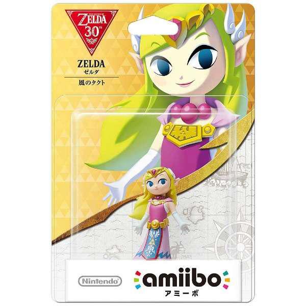 【在庫限り】 amiibo ゼルダ 【風のタクト】 (ゼルダの伝説シリーズ) 【Wii U/New3DS/New3DS LL】 [NVL-C-AKAJ]_1