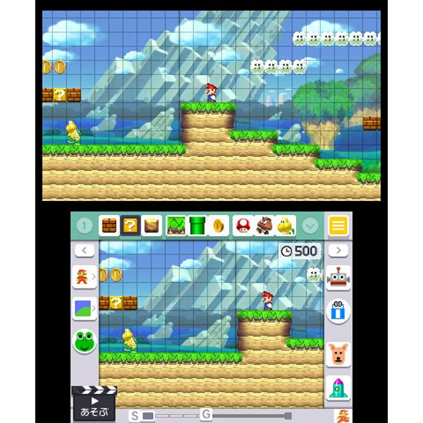 スーパーマリオメーカー for ニンテンドー3DS 【3DSゲームソフト】_1