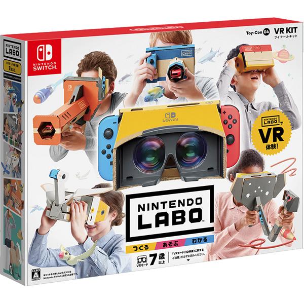【店頭併売品】 Nintendo Labo Toy-Con 04: VR Kit 【Switchゲームソフト】