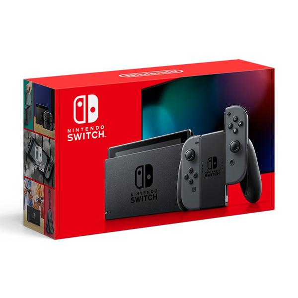 Nintendo Switch Joy-Con(L) ネオンブルー/(R) ネオンレッド [2019年8月モデル] [HAD-S-KABAA] [ゲーム機本体] + 全損保証サービス付きクリアケースセット_1