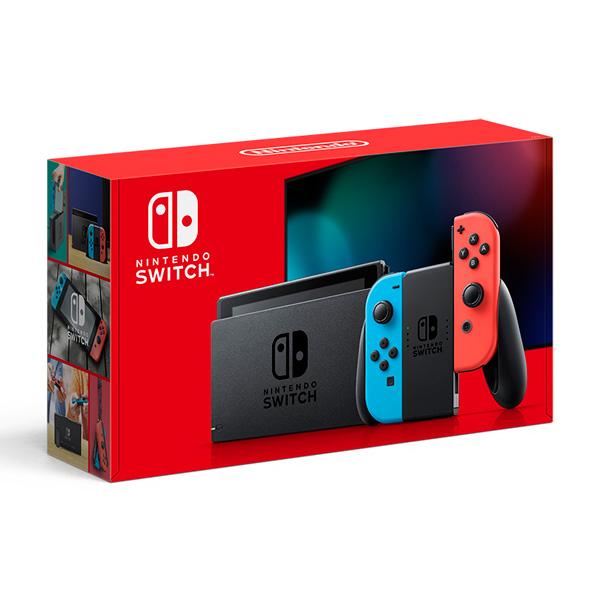 【店頭併売品】 Nintendo Switch Joy-Con(L) ネオンブルー/(R) ネオンレッド [2019年8月モデル] [HAD-S-KABAA] [ゲーム機本体]