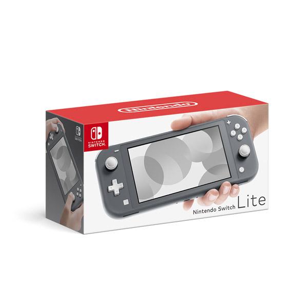 Nintendo Switch Lite グレー [ゲーム機本体] [HDH-S-GAZAA]