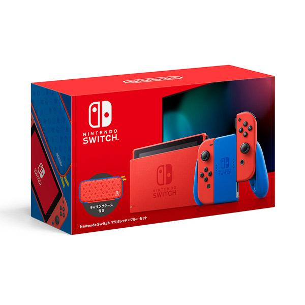 Nintendo Switch マリオレッド×ブルー セット [HAD-S-RAAAF][ゲーム機本体]