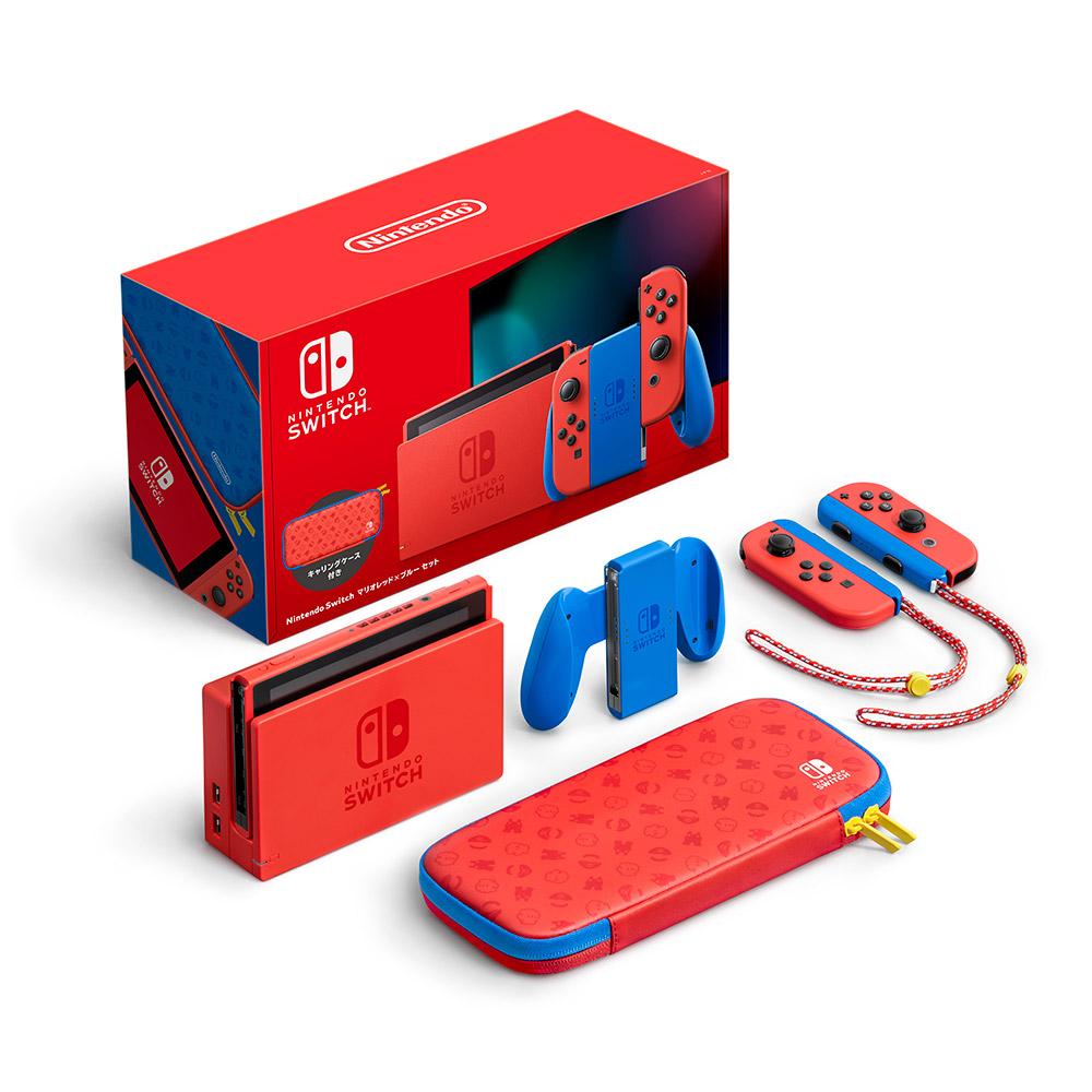 Nintendo Switch マリオレッド×ブルー セット [HAD-S-RAAAF][ゲーム機本体]_7