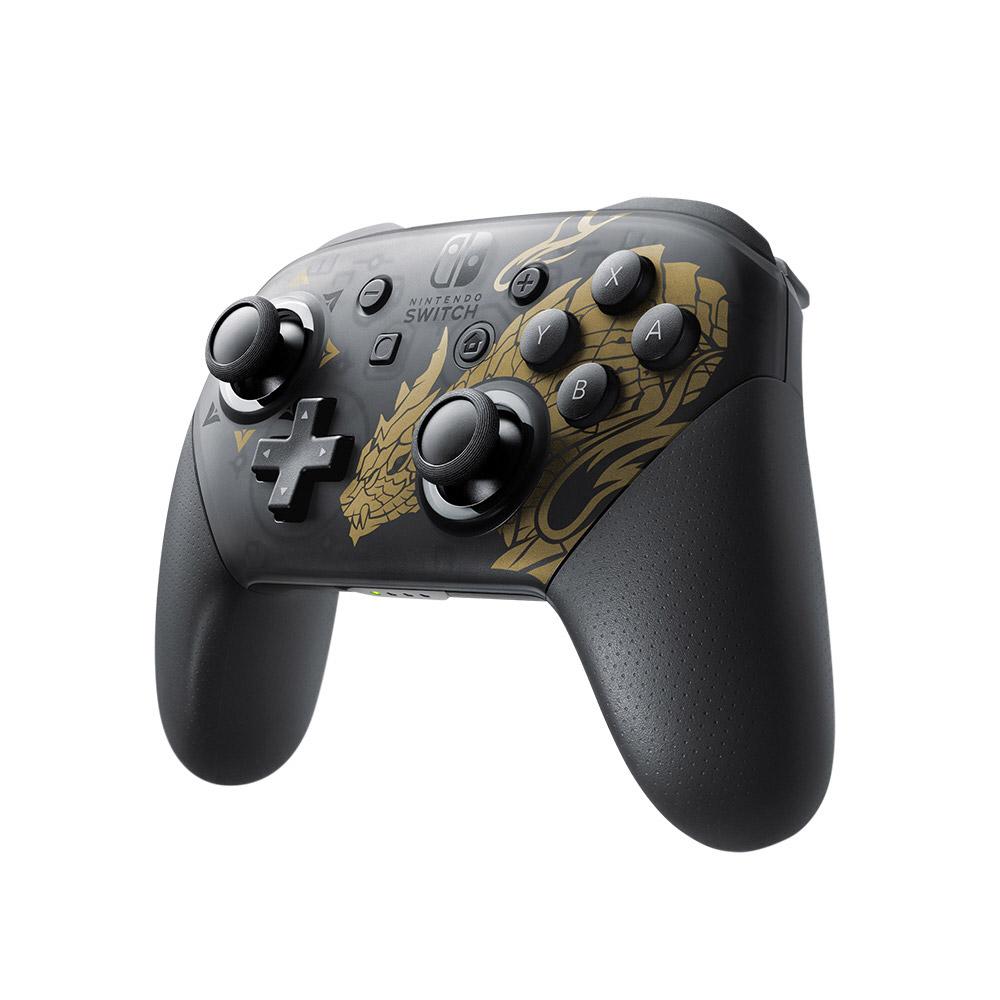 Nintendo Switch Proコントローラー モンスターハンターライズエディション [HAC-A-FSSKN]_2