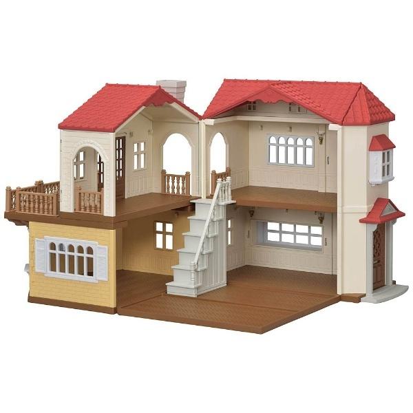 シルバニアファミリー 赤い屋根の大きなお家