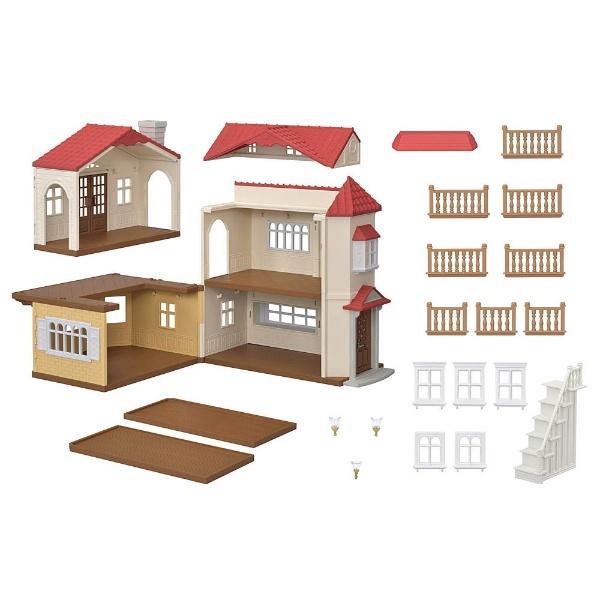 シルバニアファミリー 赤い屋根の大きなお家_1