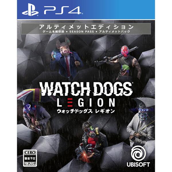 ウォッチドッグス レギオン アルティメットエディション 【PS4ゲームソフト】