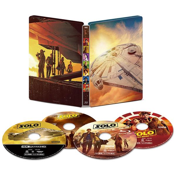 ハン・ソロ/スター・ウォーズ・ストーリーMovieNEX スチールブック4KUHD+3D+BD