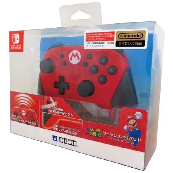 ワイヤレスホリパッド for Nintendo Switch マリオ [NSW-104]