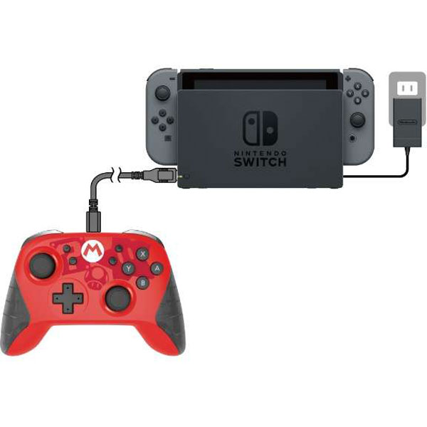 ワイヤレスホリパッド for Nintendo Switch マリオ [NSW-104]_2
