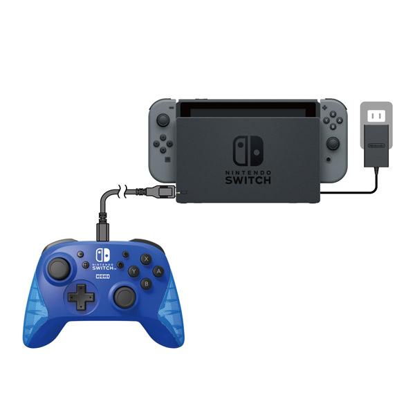 ワイヤレスホリパッド for Nintendo Switch ブルー [NSW-174] [Switch]_4
