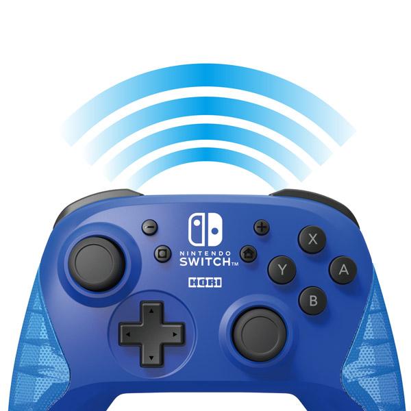 ワイヤレスホリパッド for Nintendo Switch ブルー [NSW-174] [Switch]_5