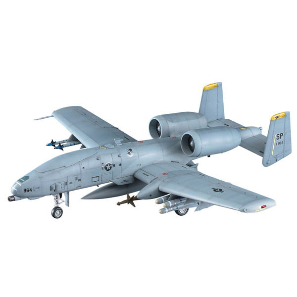 """1/72 A10 サンダーボルト II """"UAV"""" プラモデル"""