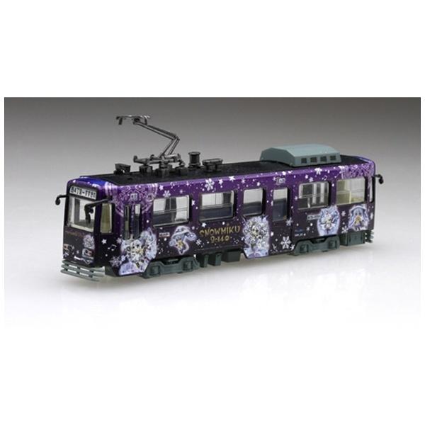 1/150 雪ミク電車 2014年モデル 札幌市交通局3300形電車 札幌時計台セット_1