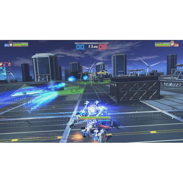 【在庫限り】 電脳戦機バーチャロン×とある魔術の禁書目録 とある魔術の電脳戦機 通常版 【PS Vitaゲームソフト】_3