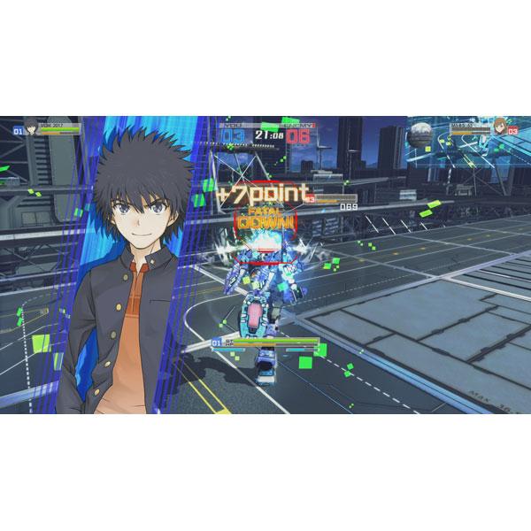 【在庫限り】 電脳戦機バーチャロン×とある魔術の禁書目録 とある魔術の電脳戦機 通常版 【PS Vitaゲームソフト】_4