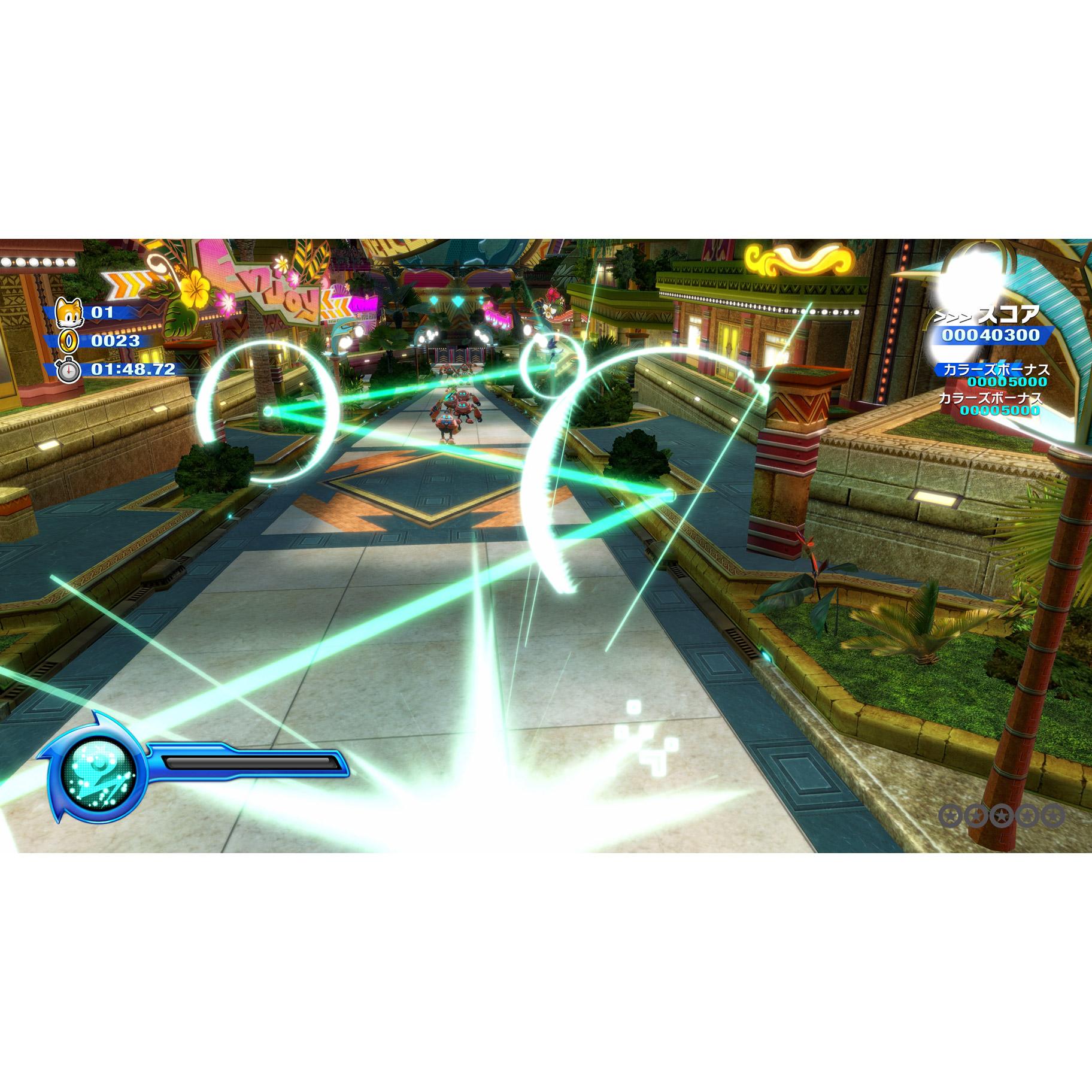 ソニックカラーズ アルティメット 30thアニバーサリーパッケージ 【PS4ゲームソフト】_5