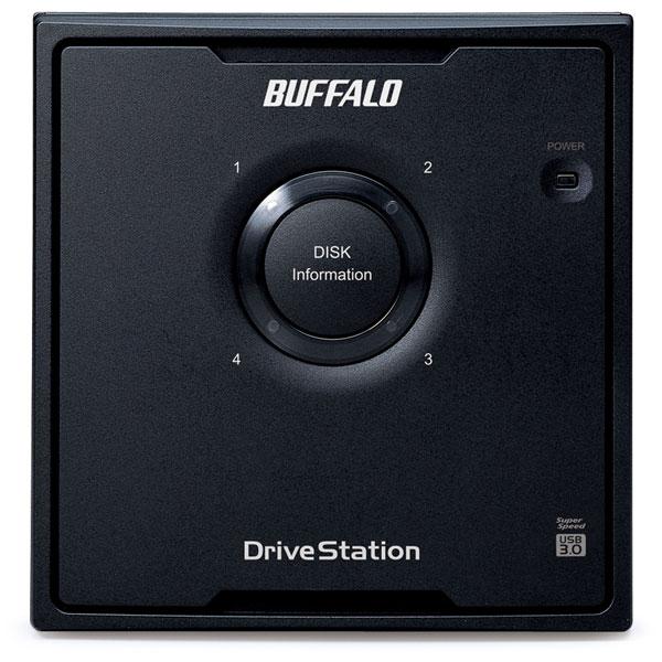 HD-QL16TU3/R5J  外付HDD [USB3.0・16TB] 4ドライブモデル/RAID 5対応_1