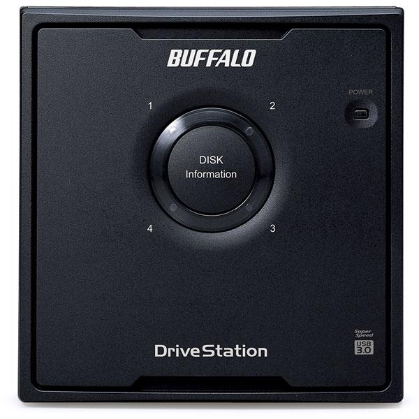 【在庫限り】 HD-QH24TU3/R5 外付けHDD  ブラック [据え置き型 /24TB]_1