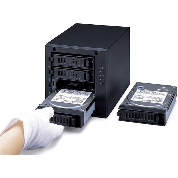 【在庫限り】 HD-QH24TU3/R5 外付けHDD  ブラック [据え置き型 /24TB]_5