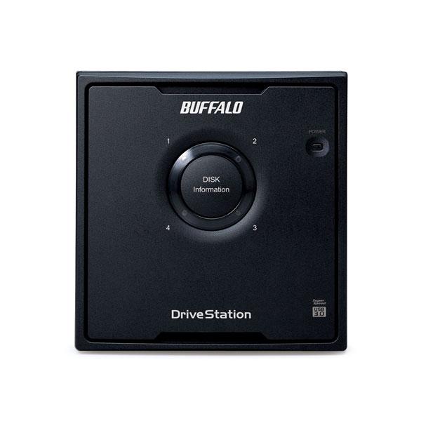 HD-QL8TU3/R5J  外付HDD [USB3.0・8TB] 4ドライブモデル/RAID 5対応_1