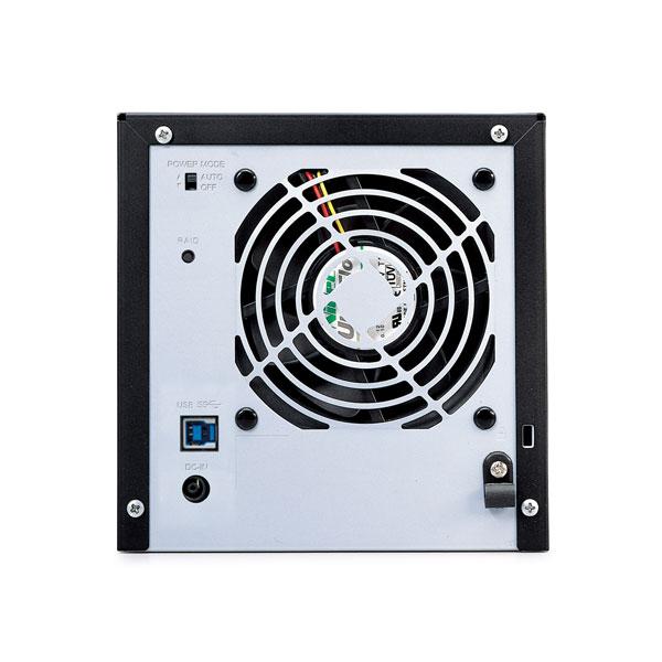 HD-QL8TU3/R5J  外付HDD [USB3.0・8TB] 4ドライブモデル/RAID 5対応_2